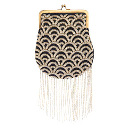 Sienna Clutch Black Gold-From St Xavier