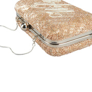 Wifey Medium Clutch Champagne