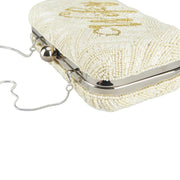 Wifey Medium Clutch Ivory Amber
