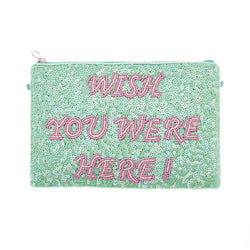 Wishes Clutch Green-From St Xavier