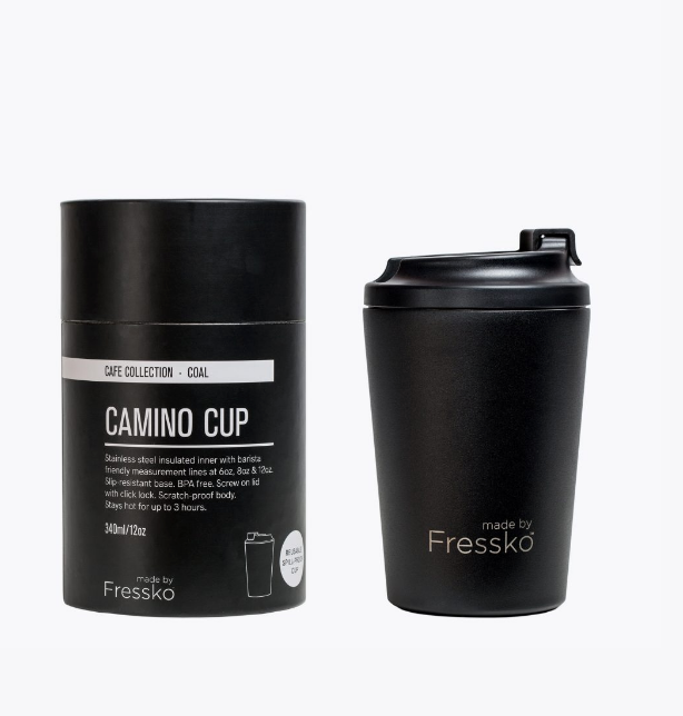 Camino Reusable Coffe Cup - Coal