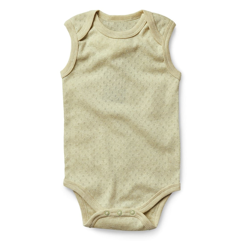 Sleeveless Bodysuit - Sage