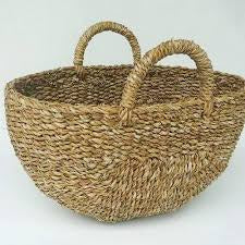 Oval Basket with Single Handle