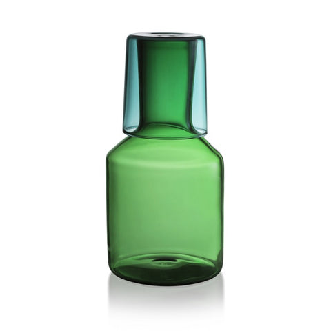Carafe & Glass - Green