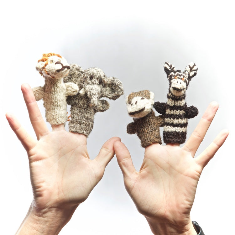 Finger Puppet - Savannah x 4