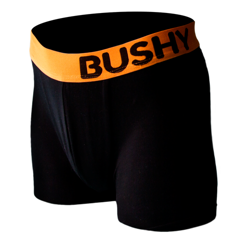 Men's Boxer Brief - Black / Orange