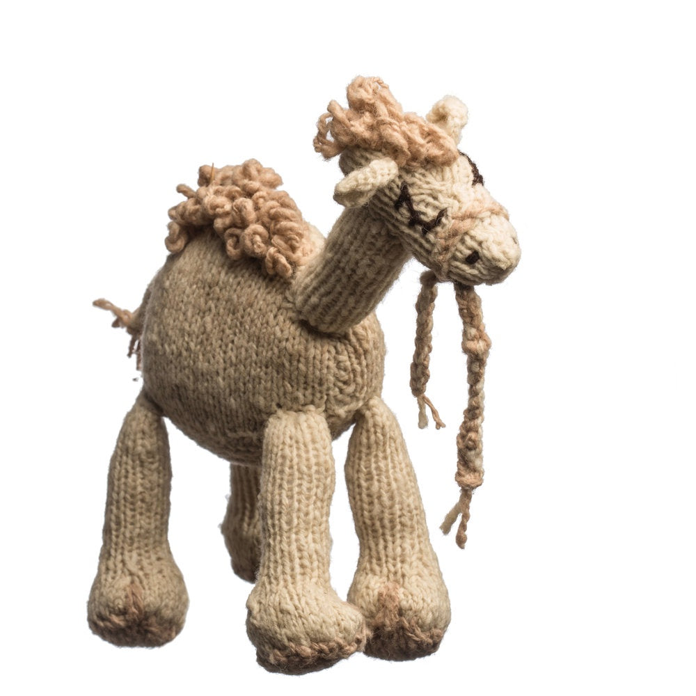 Wool Bundu Toy Camel Medium