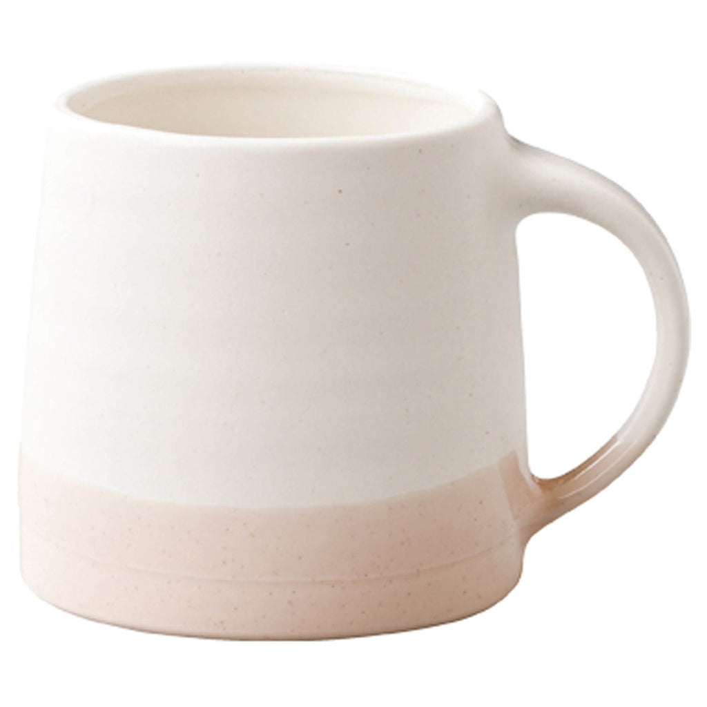 Slow Coffee Style Mug - 110ml - White & Pink Beige
