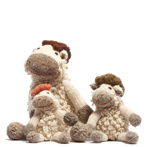 Wool Shamba Toy Sheep - Small