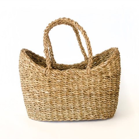 Holga Basket with handle, Natural