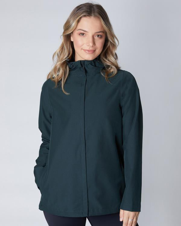 Elements Waterproof Jacket - Eucalyptus