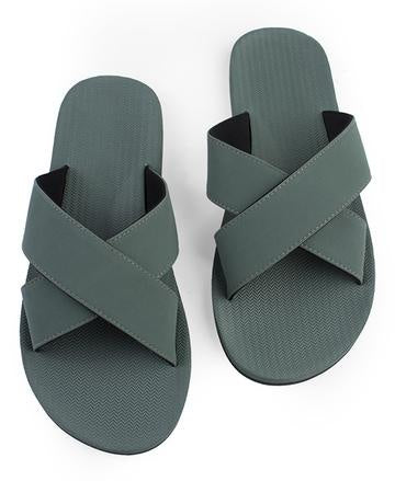 Cross Sandal - Leaf