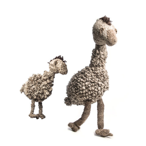 Wool Bundu Toy Emu Medium