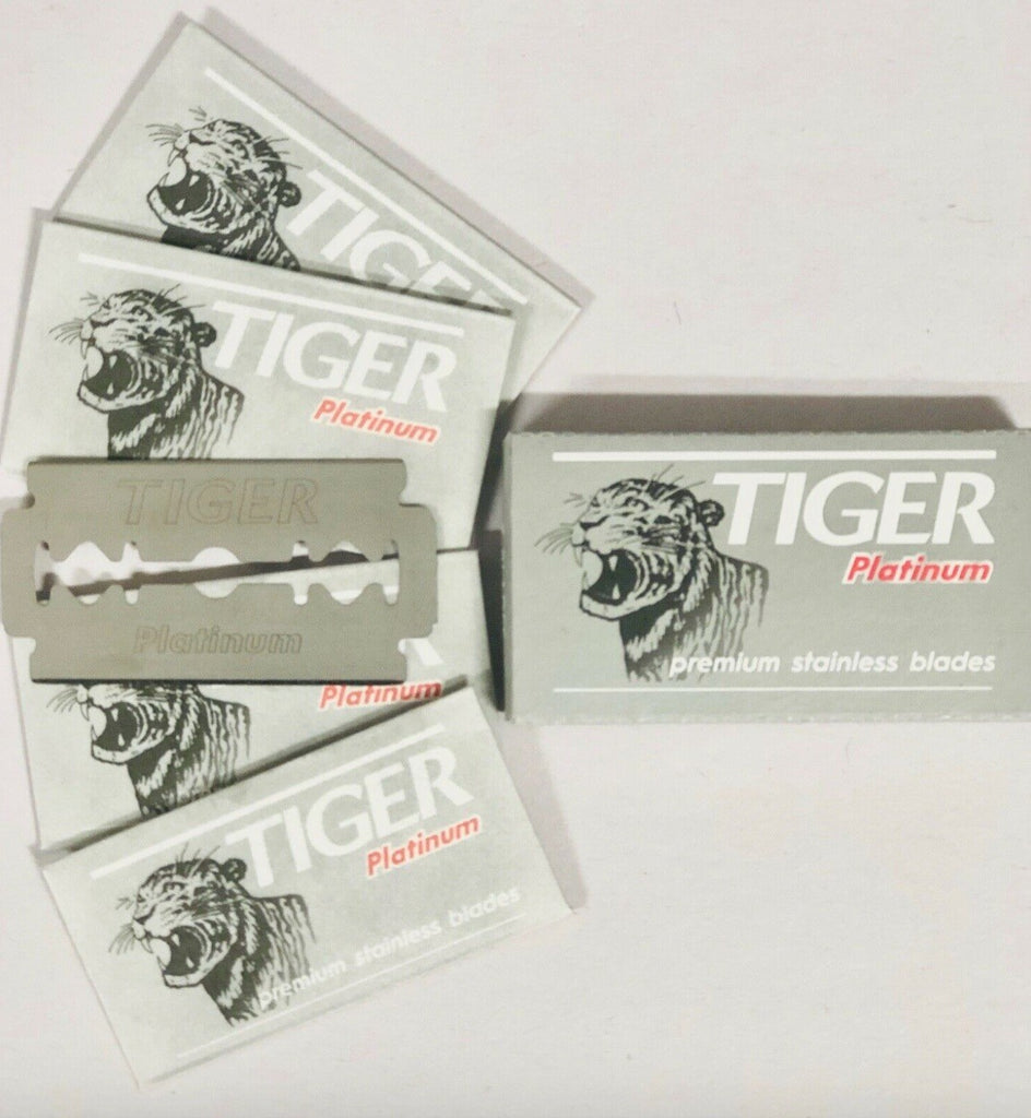 Tiger Premium Double Edge Razor Blades