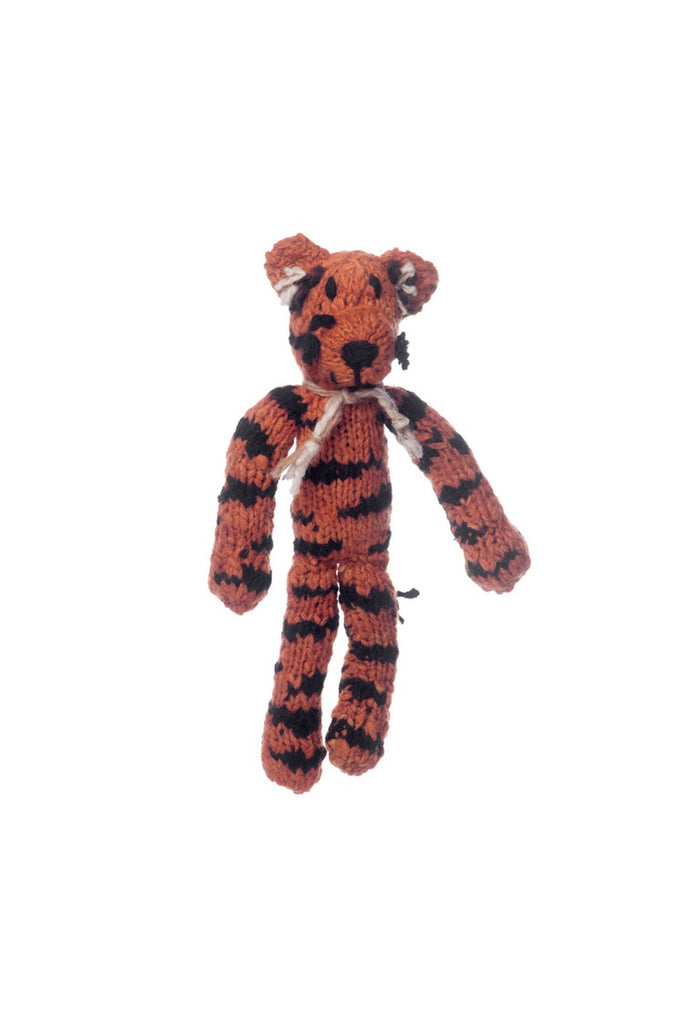 Wool Spider Toy Tiger - Small