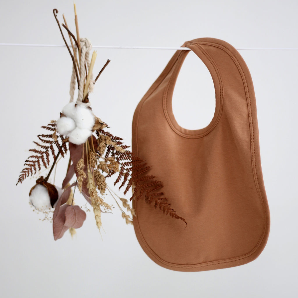 Essentials Bib - Tawny Brown