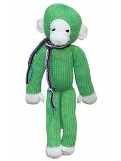 Organic Cotton Spider Monkey - Green - Small