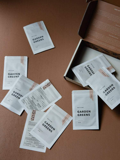 The Garden Greens Seed Set