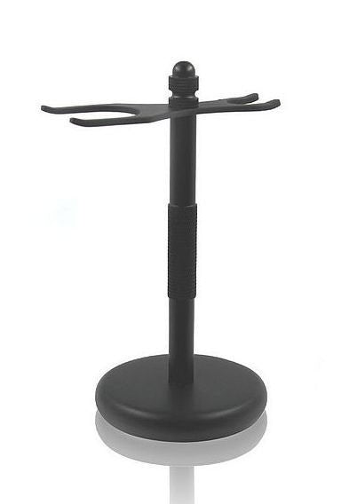 Shaving Brush and Safety Razor Stand - Matt Black