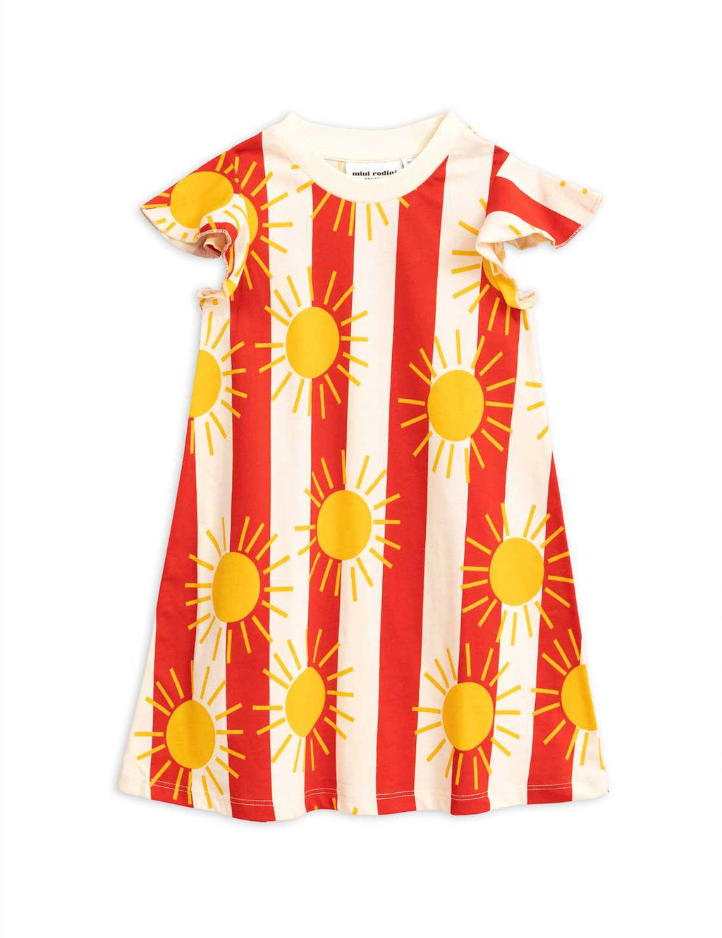 Sun Stripe Wing Dress
