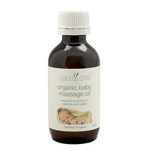 Certified Organic Baby Massage Oil -100ml