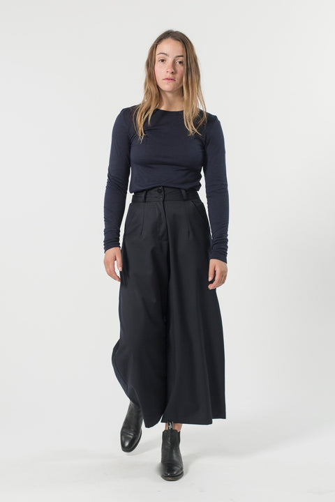 Good Studios - Wide Leg Pant, Black