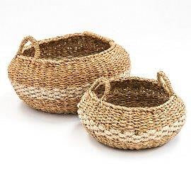 Koli Striped Basket