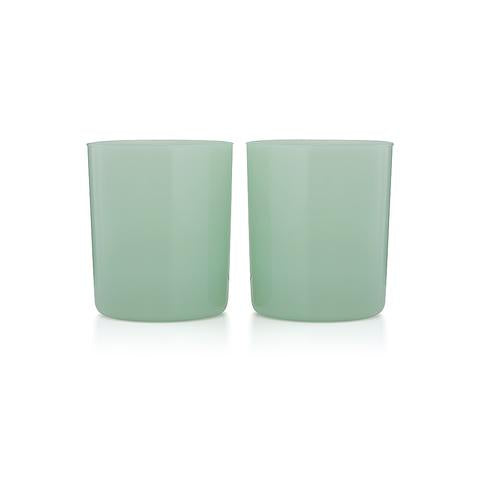 4 Medium Gobelets - Opaque Mint Green