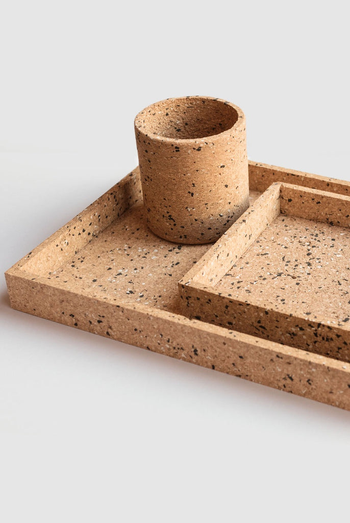 Cork Desk Tray