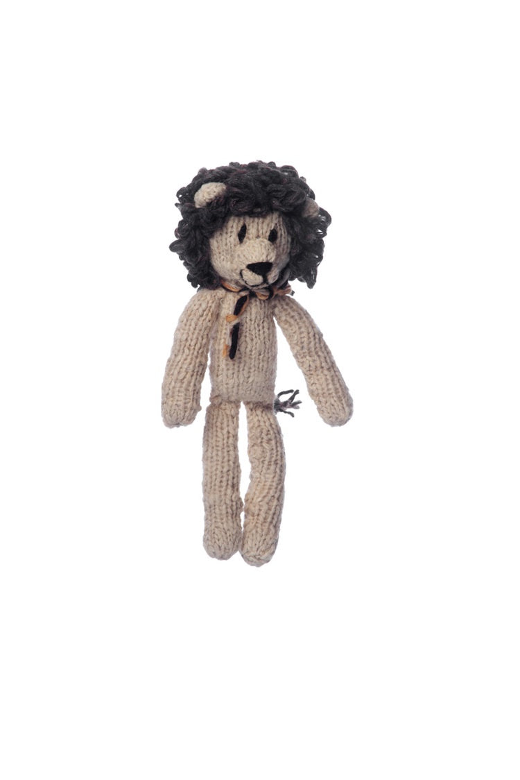 Wool Spider Toy Lion - Medium