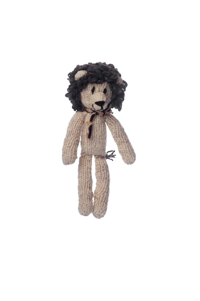 Wool Spider Toy Lion - Small