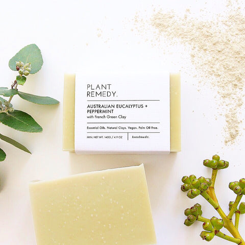 Australian Eucalyptus + Peppermint with French Green Clay
