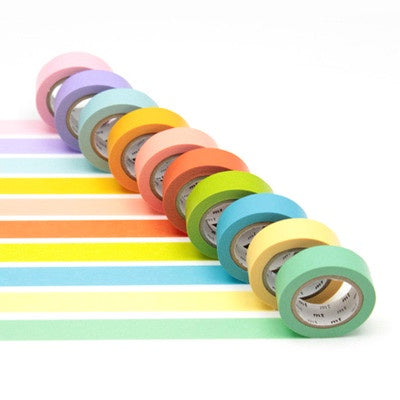 Masking Tape MT - Boxed Set of 10 - Pastel Colours