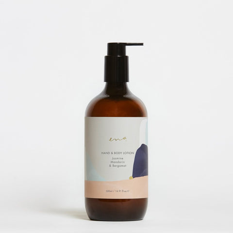 Hand and Body Lotion - Jasmine Mandarin & Bergamot