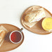 Fika Cafe Lunch Set - Wood Tray & Glass Mug