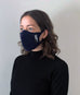 Zero Waste Cotton Face Mask Kit - Black