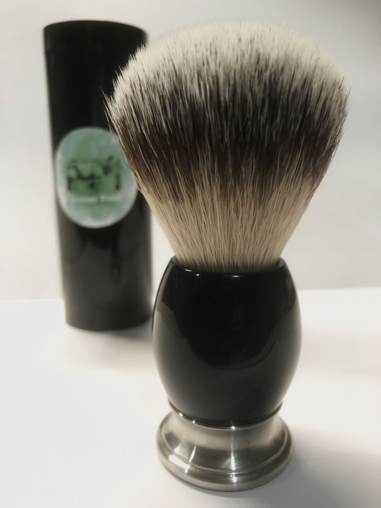 Synthetic Shaving Brush - Green Grumpy
