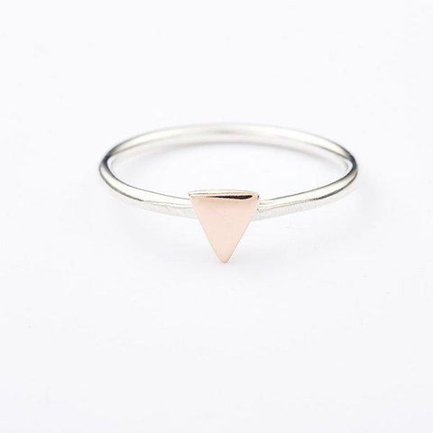 Triangle Stackable Ring