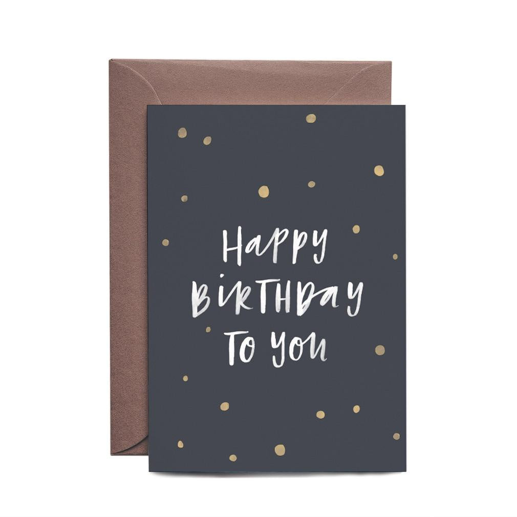 Birthday Confetti Greeting Card