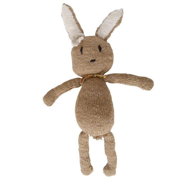 Wool Ditsy Toy Rabbit Latte Large