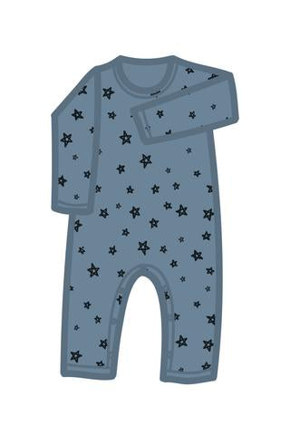 Chalk Star LS Romper