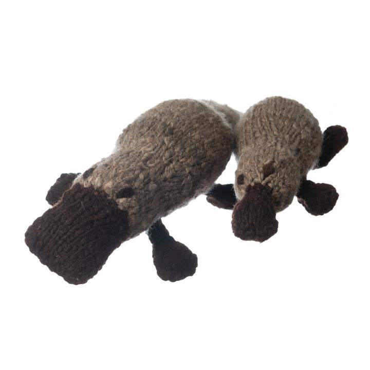 Wool Bundu Toy Platypus - Baby