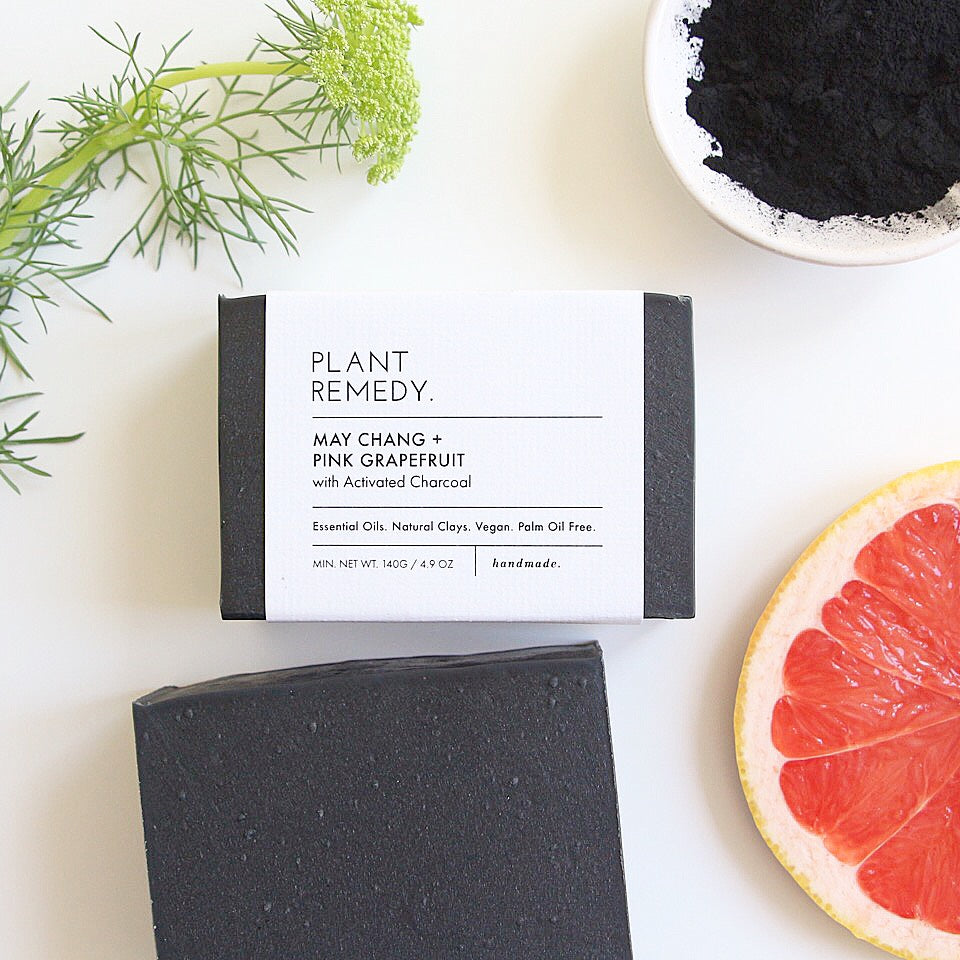 May Chang + Pink Grapefruit with Activated Charcoal