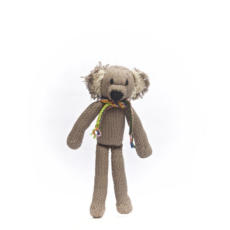 Organic Cotton Spider Toy - Koala - Small