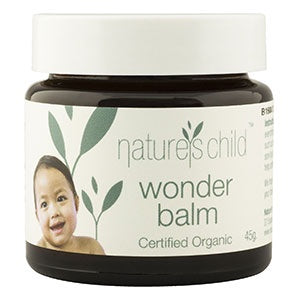 Nature's Child Certified Organic Wonder Balm, 45g