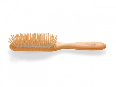 Beechwood Pocket Hair Brush