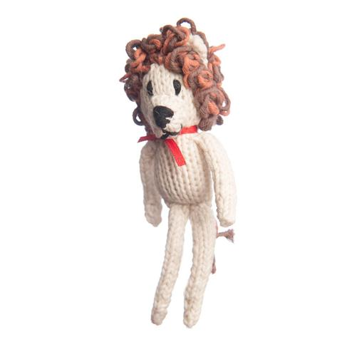 Organic Cotton Xmas Toy Lion
