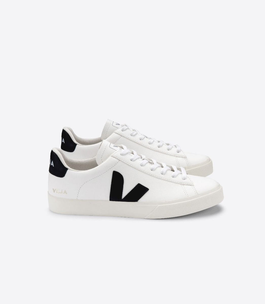 Campo Chrome Free Leather - White / Black