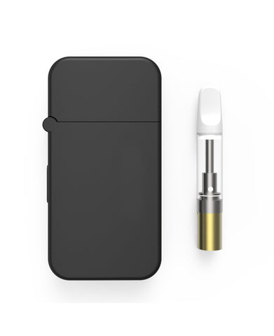 Magicbox All Metal 510 Thread Magnetic Oil Vape Battery with Refillable Glass Cartridge