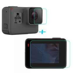 Gopro5 Tempered Glass , Front & Back